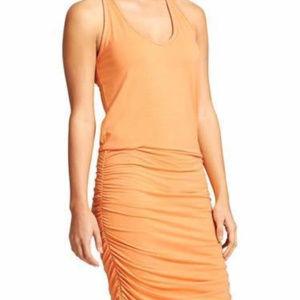 ATHLETA TEE DRESS ORANGE SHERBET SIZE SMALL NWOT